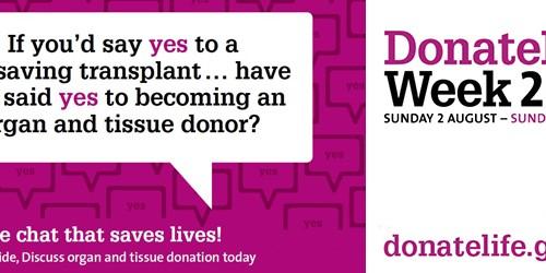 DonateLife Week 2015
